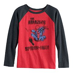 Boys 4-12 Jumping Beans® Marvel Spider-Man Raglan Graphic Tee