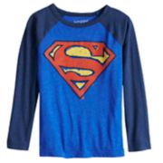 Boys 4-12 Jumping Beans® Superman Raglan Graphic Tee