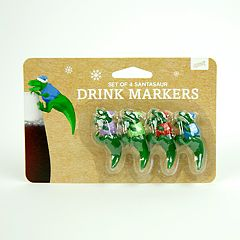 Dinosaur Drink Markers by 30 Watt