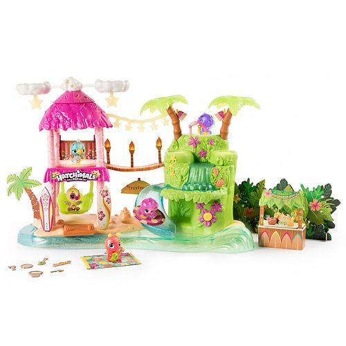 Hatchimals Tropical Party Playset Season 4