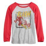 Boys 4-12 Jumping Beans® DC Comics The Flash Raglan Graphic Tee
