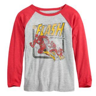 Boys 4-12 Jumping Beans® DC Comics The Flash Raglan Graphic Tee