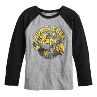 Boys 4-12 Jumping Beans® Retro Transformers Bumblebee Raglan Graphic Tee