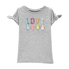 Girls 4-14 Carter's 'LOVE' Sequined Tee