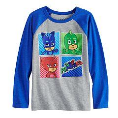 Boys 4-12 Jumping Beans® PJ Masks Gekko, Owlette & Catboy Raglan Graphic Tee