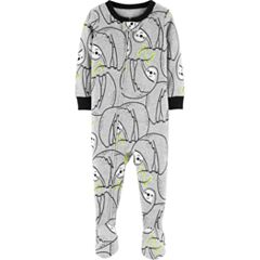 Baby Boy Carter's Sloth Print Footed Pajamas