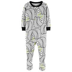 Toddler Boy Carter's Sloth Footed Pajamas