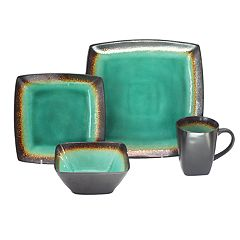 Baum Zen Jade 16-piece Square Dinnerware Set