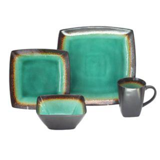 Baum Zen Jade 16-piece Square Dinnerware Set