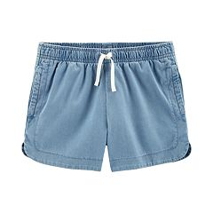 Girls 4-14 Carter's Chambray Shorts