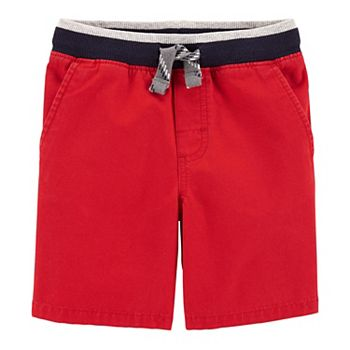 Carters Baby Boys Pull-On Canvas Shorts 6 Months Navy