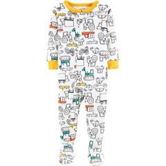 22a6348f465b Boys Footed One-Piece Pajamas - Sleepwear