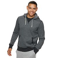 Men's Modern-Fit Fleece Pullover Hoodie (various sizes & colors)