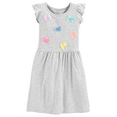 Girls 4-14 Carter's Bow Dress