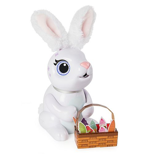 Zoomer  Hungry Bunnies Chewy Interactive Robotic Rabbit