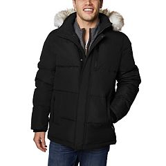 Men's Halitech Hooded Snorkel Faux-Fur Hooded Parka