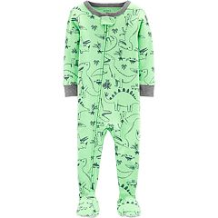b1563db82 Boys Footed One-Piece Pajamas - Sleepwear