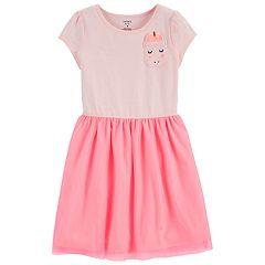 Girls 4-14 Carter's Unicorn Pocket Dress
