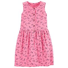 Girls 4-14 Carter's Dinosaur Print Dress