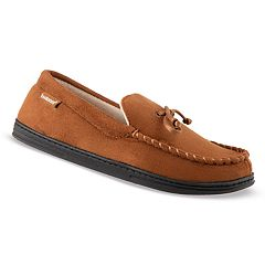 Men's isotoner Microsuede Moccasin Slippers