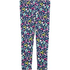 Toddler Girl Carter's Floral Full-Length Leggings