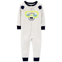 Baby Boy Carter's Polar Bear Snorkeling Footless Pajamas