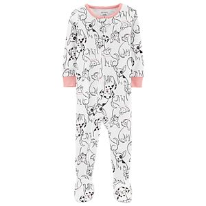 b1febe724d12 Toddler Girl Carter s Sloth Footed Pajamas