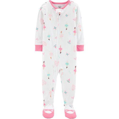 bb788241c Baby Girl Carter s Ballerina Footed Pajamas