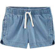 Toddler Girl Carter's Chambray Shorts