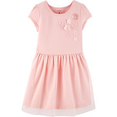Toddler Girl Carter's Floral Tulle Dress