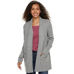Women's SONOMA Goods for Life™ Supersoft Airy Shawl Collar Cardigan