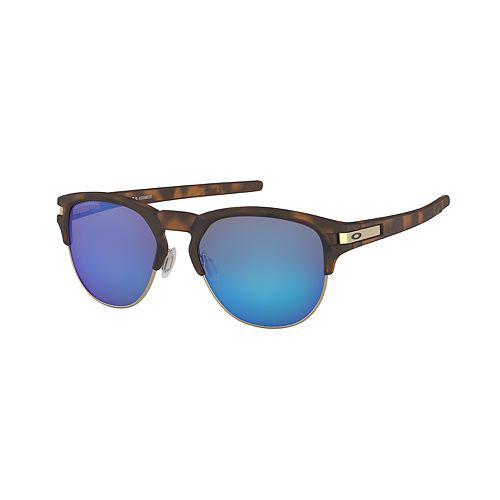 Oakley Latch Key OO9394 52mm Semi-Rimless Aviator Polarized Sunglasses