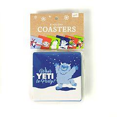 Holiday Drink Coaster Set by 30 Watt