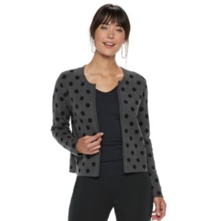 Women's ELLE? Print Cardigan Jacket