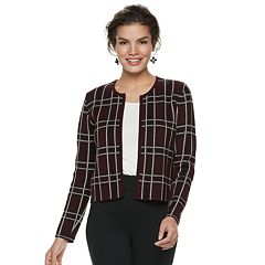 Women's ELLE™ Print Cardigan Jacket