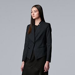 Women's Simply Vera Vera Wang Simply Cropped Blazer