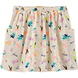 Girls 4-14 Carter's Tropical Slubbed Skort
