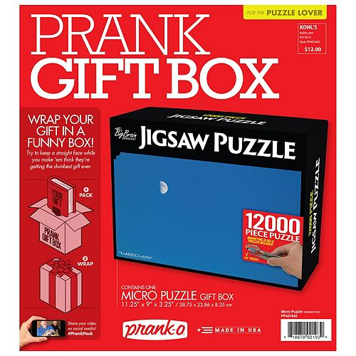 Puzzle Prank Pack Gift Box by Prank-O
