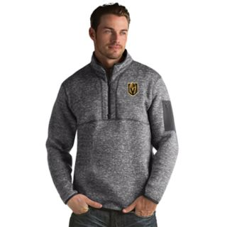 Men's Antigua Vegas Golden Knights Fortune Pullover Jacket