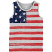 Boys 4-12 Carter's 4th of July Flag Tank Top