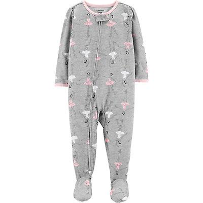 Toddler Girl Carter's Ballerina Footed Pajamas