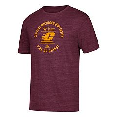 Men's adidas Central Michigan Chippewas Emblem Tee