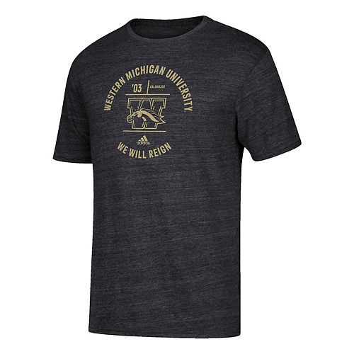Men's adidas Western Michigan Broncos Emblem Tee