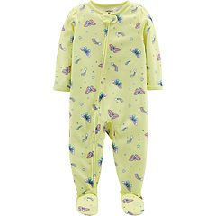 11c7e6f312 Toddler Girl Carter s Butterfly Footed Pajamas