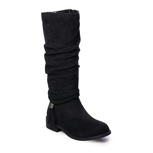 SO® Ellen Girls' Tall Boots