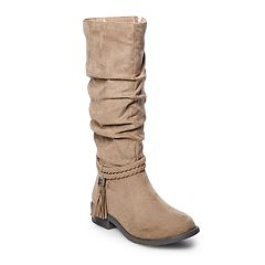 SO® Ellen Girls' Tall Boots