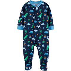 Baby Boy Carter's Dinosaur Footed Pajamas