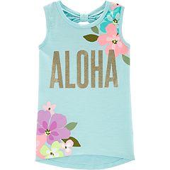 Girls 4-14 Carter's 'Aloha' Floral Tank Top