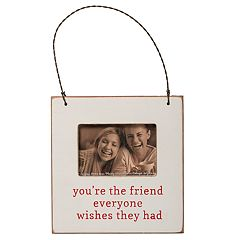 'You're The Friend' 3' x 2' Frame Christmas Ornament