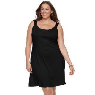 Plus Size Apt. 9® Knot A-Line Dress